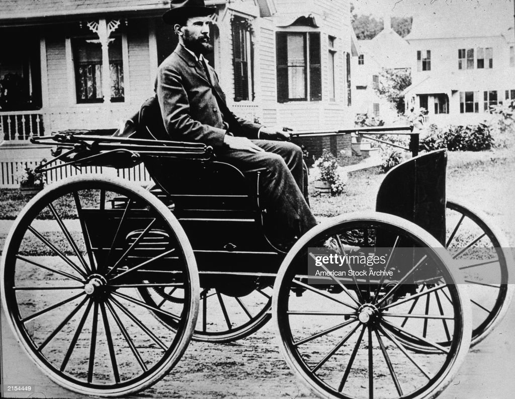 Charles Duryea In Early Car Pictures | Getty Images