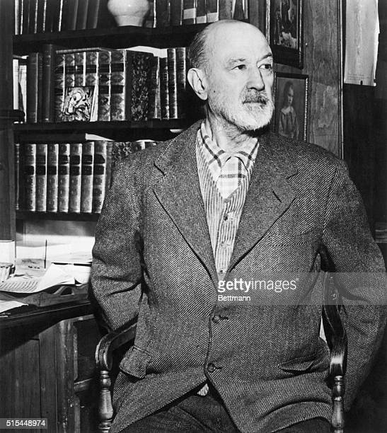 Charles Edward Ives American composer Undated photograph