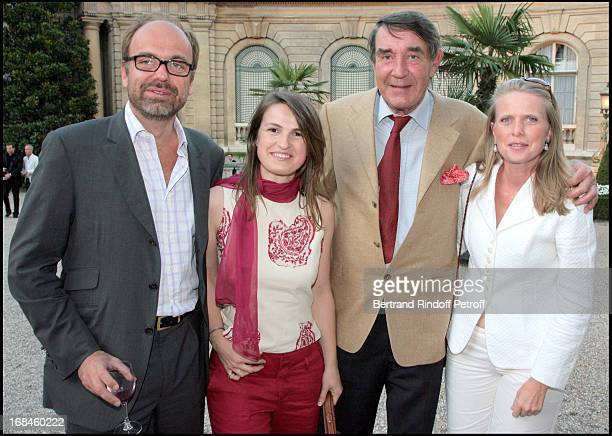 Charles Emmanuel of Rohan Chabot Princess Amedee of Clermont Tonnerre Viscount and Viscountess of Noailles at Opening Exhibition Of Joy De Rohan...