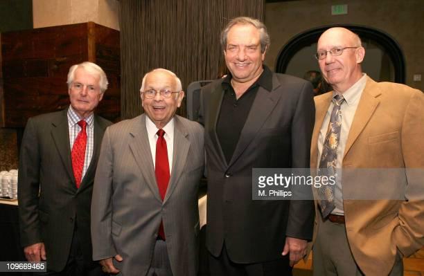 Charles Engel Johnny Grant Honorary Mayor of Hollywood Dick Wolf and Dann Florek