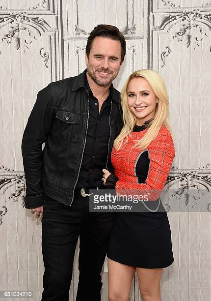 Charles Esten and Hayden Panettiere attend Build Presents Charles Esten Hayden Panettiere Discussing 'Nashville' at AOL HQ on January 5 2017 in New...