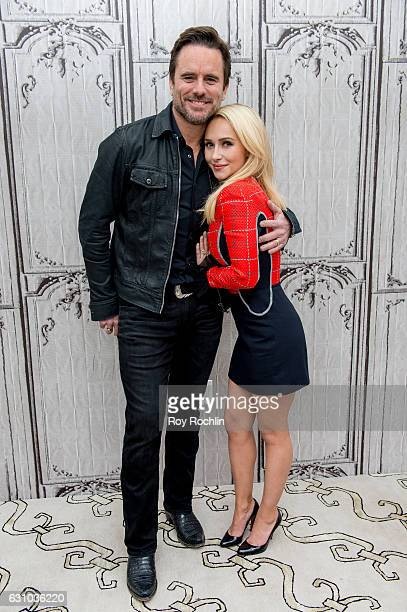 Charles Esten and Hayden Panettiere discuss Nashville with the Build Series at AOL HQ on January 5 2017 in New York City