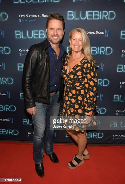 Charles Esten and Patty Hanson attend the 2019 Nashville Film Festival Bluebird Screening on October 08 2019 in Nashville Tennessee