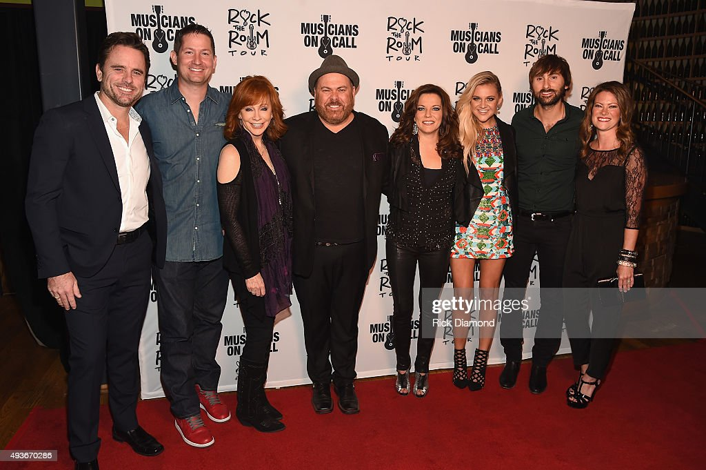 Musicians On Call Launches Rock The Room Tour In Nashville : News Photo