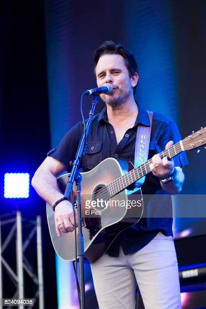 Charles Esten performs at CMC rocks at Ipswich Queensland on March 24th 2017 in Ipswich Australia