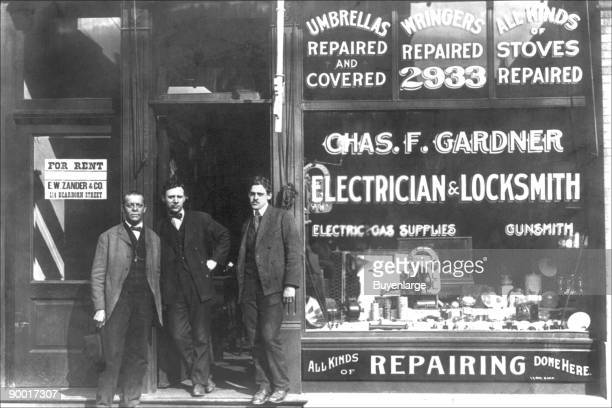 Charles F Gardner electrician and locksmith
