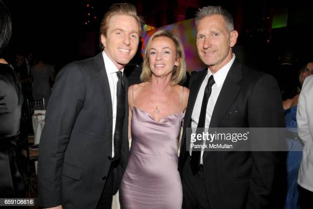 Charles Fagan Denise Seegal and Harlan Bratcher attend Parsons 2009 Fashion Benefit Honoring Calvin Klein's Tom Murry and Francisco Costa at Cipriani...