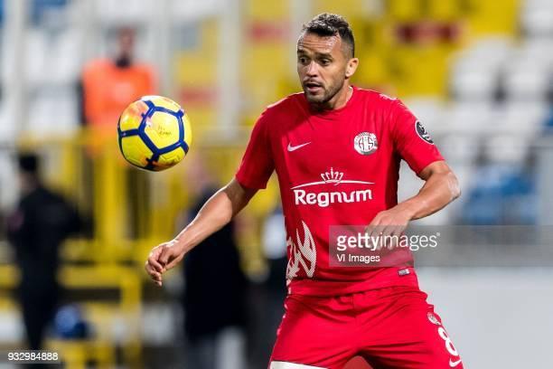 Charles Fernando Basílio da Silva of Antalyaspor AS during the Turkish Spor Toto Super Lig match between Kasimpasa AS and Antalyaspor AS at the Recep...
