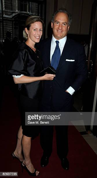 Charles Finch and Sydney IngleFinch arrive at the GQ Men Of The Year Awards at The Royal Opera House on September 2 2008 in London England