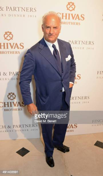 Charles Finch attends the annual Charles Finch Filmmakers Dinner during the 67th Cannes Film Festival at Hotel du CapEdenRoc on May 16 2014 in Cap...
