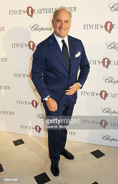 Charles Finch attends the annual Finch's Quarterly Review Filmmakers Dinner hosted by Charles Finch Caroline Scheufele and Nick Foulkes at Hotel Du...
