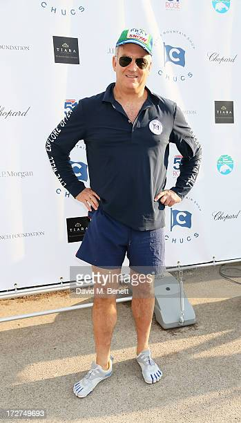 Charles Finch attends the Chucs Swimathon hosted by Charles Finch at the Serpentine Hyde Park on July 4 2013 in London England
