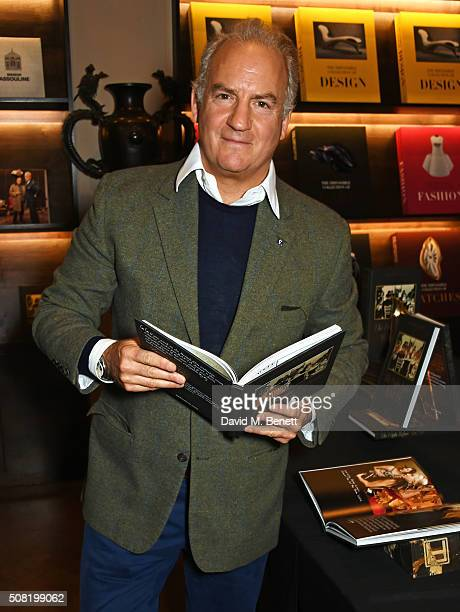 Charles Finch attends the launch of his book The Night Before BAFTA at Maison Assouline on February 3 2016 in London England