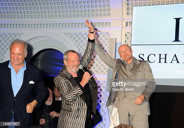 Charles Finch filmmaker Terry Gilliam and CEO of IWC Schaffhausen Georges Kern attend the IWC and Finch's Quarterly Review Annual Filmmakers Dinner...