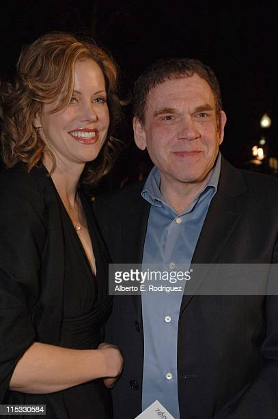 Charles Fleischer and guest during Zodiac Los Angeles Premiere Arrivals at Paramount Studios in Hollywood California United States