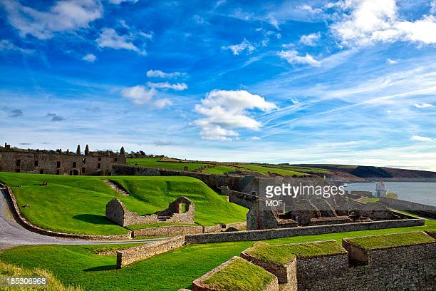 charles fort kinsale county cork ireland - cork city stock pictures, royalty-free photos & images