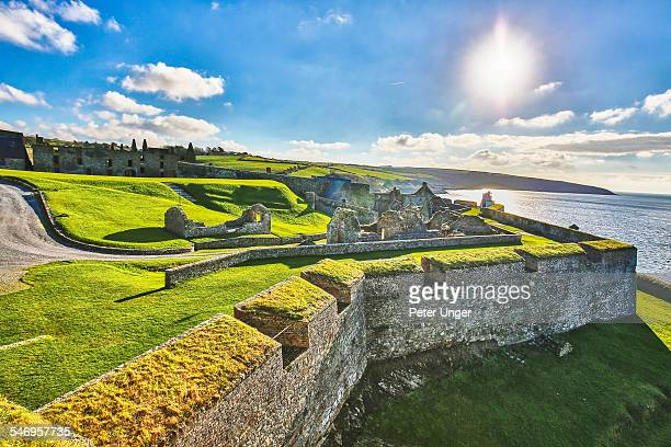 charles fort, kinsale, ireland - county cork stock pictures, royalty-free photos & images