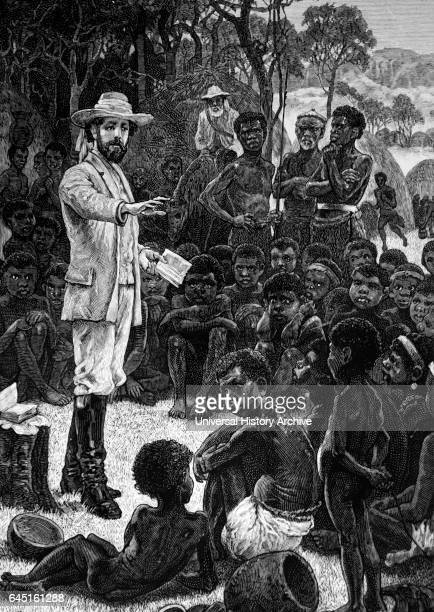 Charles Frederick Mackenzie Anglican Bishop of Central Africa leader of the Universities Mission preaching to African children Moving from Cape Town...