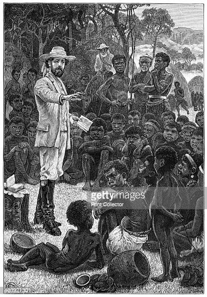 Charles Frederick MacKenzie British clergyman and missionary preaching to African children 18541862 Mackenzie was appointed the first Anglican Bishop...