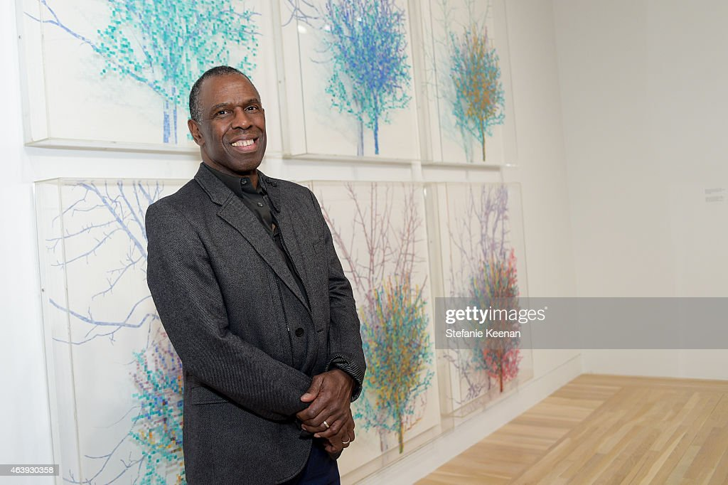Charles Gaines attends Hammer Museum's Provocations Presented In Partnership With Burberry - Members' Opening on February 19, 2015 in Los Angeles, California.