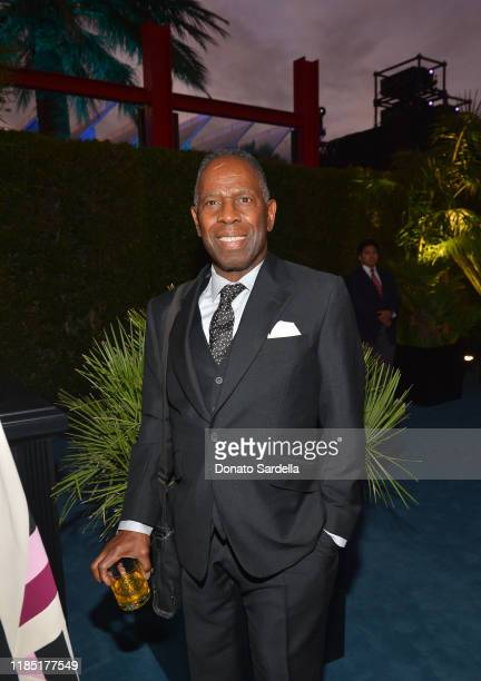 Charles Gaines attends the 2019 LACMA Art Film Gala Presented By Gucci at LACMA on November 02 2019 in Los Angeles California