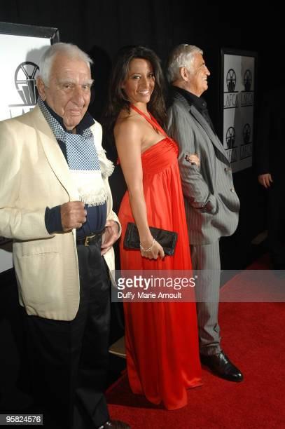 Charles Gerard Barbara Gandolfi and Actor JeanPaul Belmondo attend the 35th Annual Los Angeles Film Critics Association Awards at InterContinental...