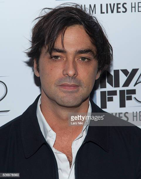 Charles Gillibert attends the 'Eden' premiere at Alice Tully Hall during the 52nd New York Film Festival in New York City �� LAN