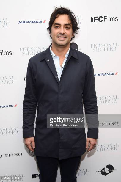 Charles Gillibert attends the 'Personal Shopper' premiere at Metrograph on March 9 2017 in New York City