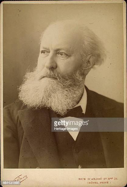 Charles Gounod, French composer, late 19th century. Gounod's best known works are his 'Ave Maria' and the operas 'Faust' and 'Romeo et Juliette'....