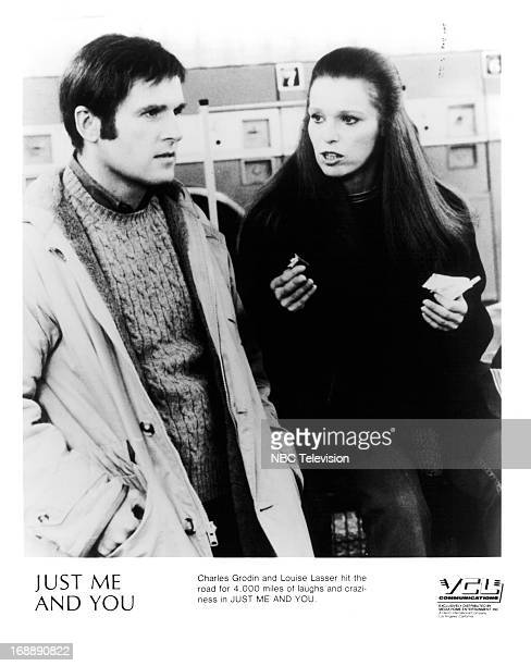 Charles Grodin listens to Louise Lasser in a scene from the television film 'Just Me And You' 1978