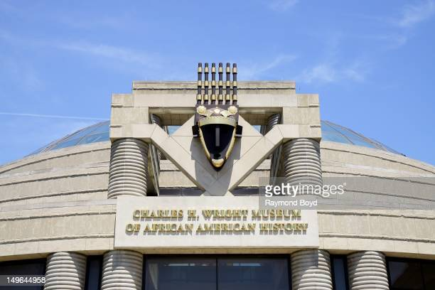 Charles H Wright Museum of AfricanAmerican History in Detroit Michigan on JULY 21 2012