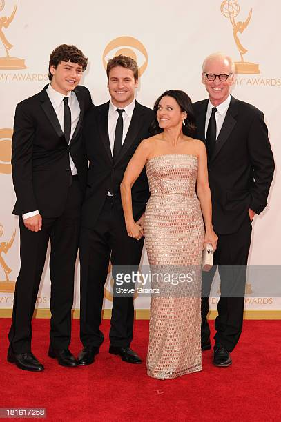 Charles Hall Henry Hall actress Julia LouisDreyfus and writer Brad Hall arrive at the 65th Annual Primetime Emmy Awards held at Nokia Theatre LA Live...