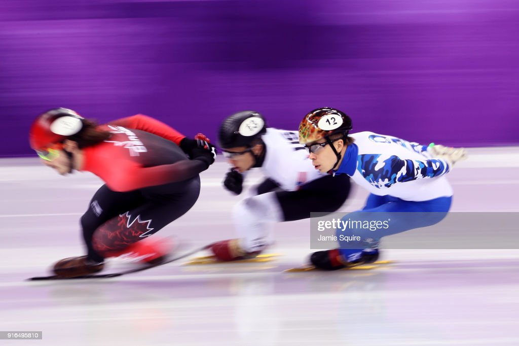 Short Track Speed Skating - Winter Olympics Day 1