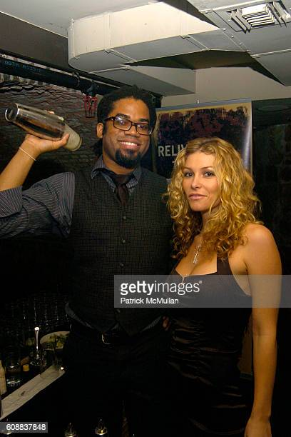 Charles Hardwick and Heather Vandeven attend Drambuie Den Event with Special Guest Heather Vandeven at Level V on October 22 2007 in New York