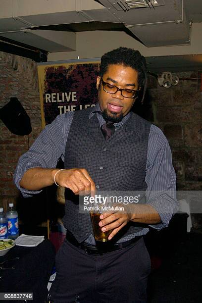 Charles Hardwick attends Drambuie Den Event with Special Guest Heather Vandeven at Level V on October 22 2007 in New York