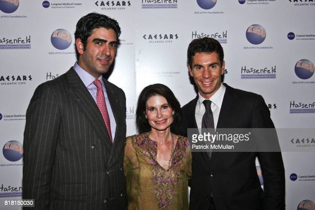 Charles Hatami Lori Fink and Joshua Fink attend ADULTS IN TOYLAND Casino Night for a Cause Hosted by Caesars Atlantic City at The Edison Ballroom on...