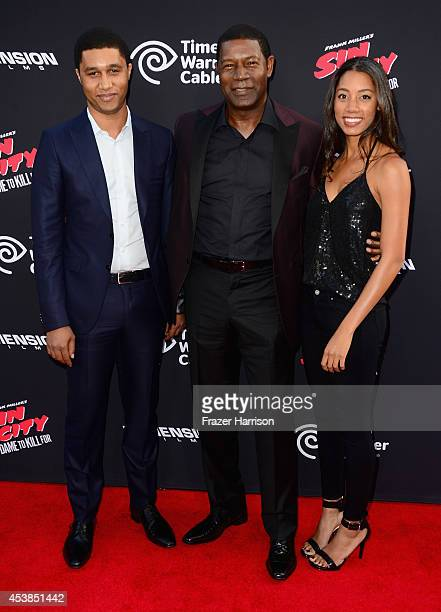 Charles Haysbert actor Dennis Haysbert and Katharine Haysbert attends Premiere of Dimension Films' Sin City A Dame To Kill For at TCL Chinese Theatre...
