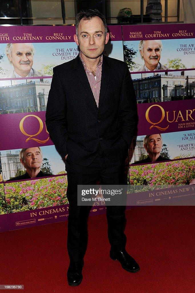 Charles Hazlewood attends a Gala Screening of 'Quartet' at Odeon West End on December 11, 2012 in London, England.