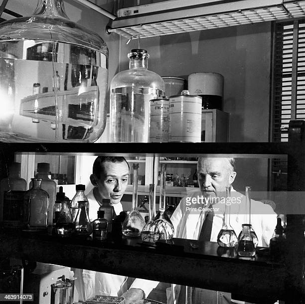 Charles Herbert Best Canadian physiologist 1960 Bell with an assistant in the laboratory Bell assisted Frederick Banting to isolate insulin and also...