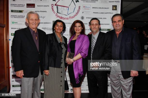 Charles Hermansen Mary Ann Hermansen Francesca Cavaliere Charles Hermansen Jr and Nick Zagami attend Gianni Russo Honors the Supporters of TERI'S...