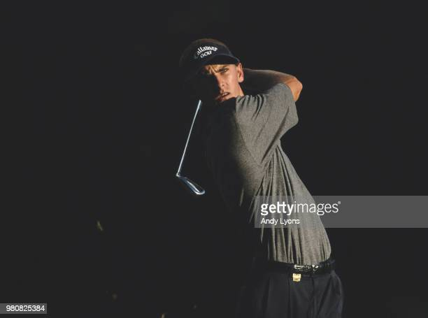 Charles Howell III of the United States during the National Car Rental Golf Classic Disney golf tournament on 26 October 2000 at the Walt Disney...