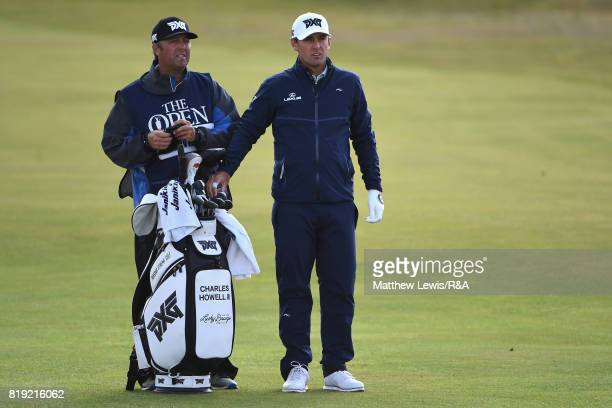 Charles Howell III of the United States looks on during the first round of the 146th Open Championship at Royal Birkdale on July 20 2017 in Southport...