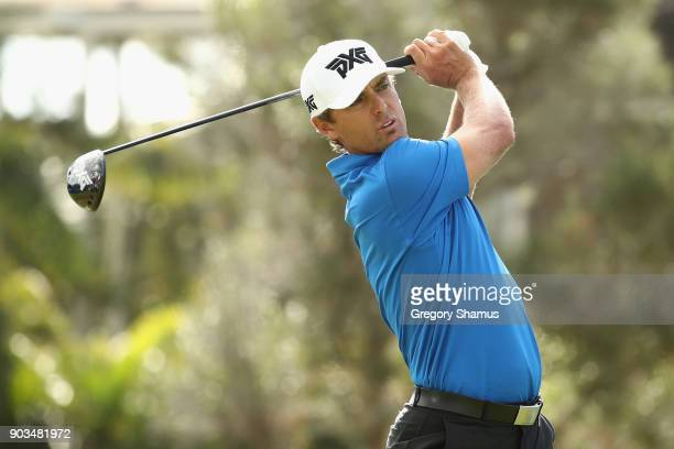 Charles Howell III of the United States plays a shot during the proam tournament prior to the Sony Open In Hawaii at Waialae Country Club on January...