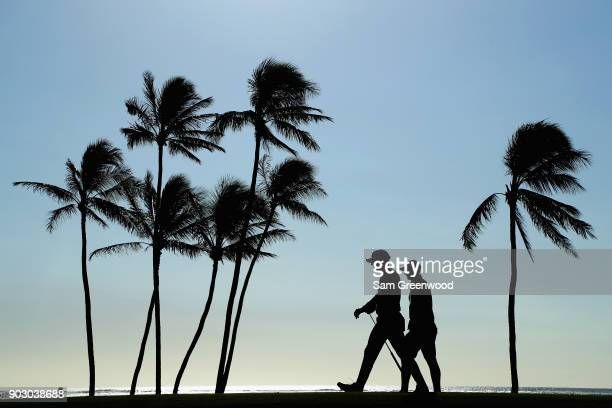 Charles Howell III of the United States walks during practice rounds prior to the Sony Open In Hawaii at Waialae Country Club on January 9 2018 in...