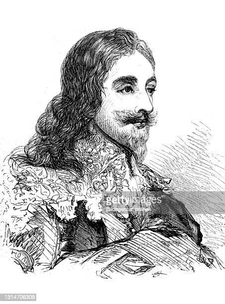 Charles I., 19 November 1600 - 30 January 1649, King of England, Scotland, and Ireland from 27 March 1625 until his execution in 1649 / Karl I., 19....