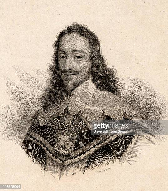 Charles I of England16001649 King of England ScotlandWales and Ireland Engraved by Geoffroy