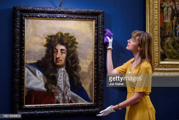 Preview of the 'Prince Patron' Exhibition at Buckingham Palace on July 19 2018 in London England curated by The Prince of Wales to mark his 70th...