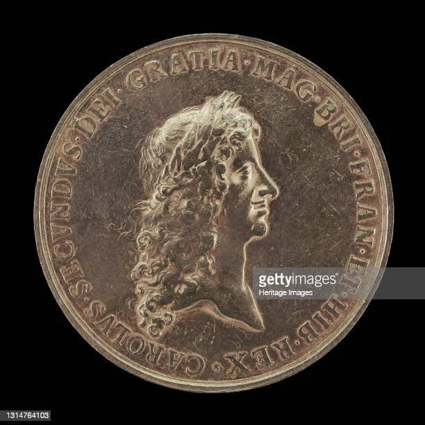 Charles II, King of England: Proclamation of the Peace of Breda [obverse], 1667. Artist Jan Roettiers.