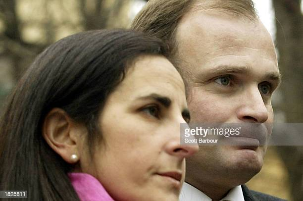 Charles Ingram and his wife Diana arrive at Southwark Crown Court March 3, 2003 in London, United Kingdom. Ingram has been charged with deception and...