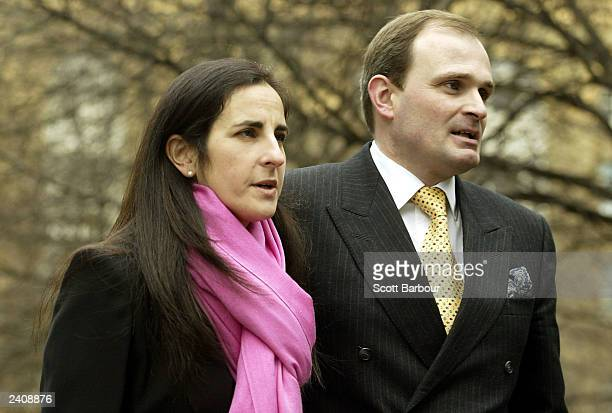 Charles Ingram and his wife Diana arrive at Southwark Crown Court March 3, 2003 in London, United Kingdom. Ingram was charged with deception and...